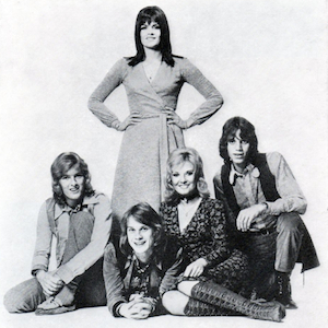 The New Seekers pictured in the 1971 Royal Variety Performance programme.