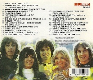 The Singles (CD track listing).