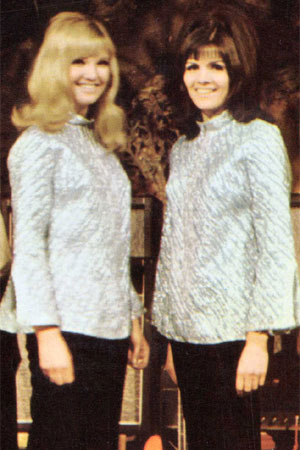 Lyn Paul and Eve Graham.