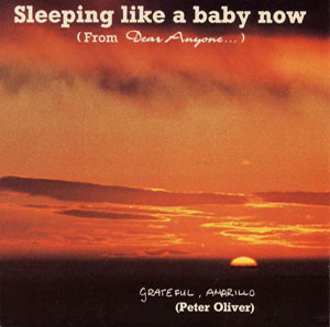 Sleeping Like A Baby Now (single cover).