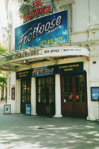 Playhouse Theatre, London.