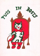 Puss In Boots, Cambridge Arts Theatre (programme cover).