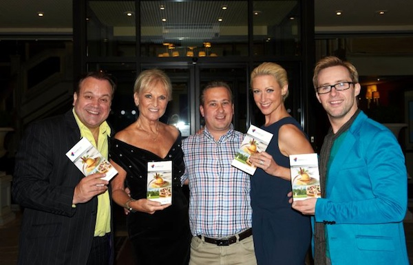 Ian H Watkins, Lyn Paul, Faye Tozer and Shaun Williamson at the 'Rhinestone Mondays' after party at the Marks Tey Hotel.