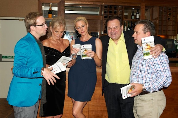 Shaun Williamson, Lyn Paul, Faye Tozer and Ian H Watkins at the 'Rhinestone Mondays' after party at the Marks Tey Hotel.