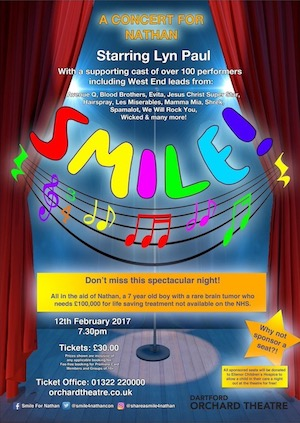 Smile: a concert for Nathan (poster).