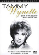 Tammy Wynette: Legends In Concert (DVD cover).